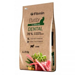 Fitmin Gato Purity Dental Saltando Hormigas
